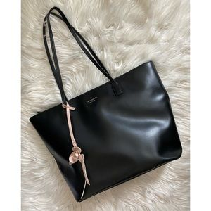 Kate Spade leather zip tote